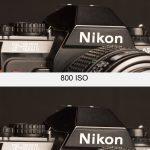 Monté en ISO Canon 5D Mark II
