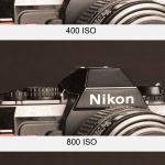 Monté en ISO Canon 60D