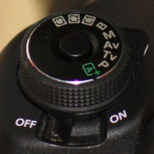Molette Canon modes PASM