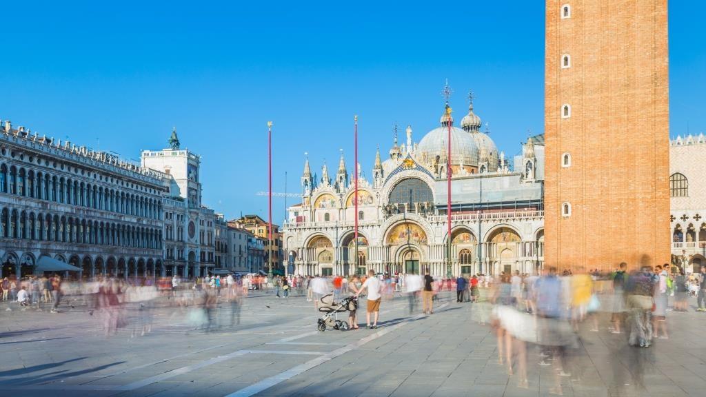 Pose longue de 5 secondes en journée à Venise