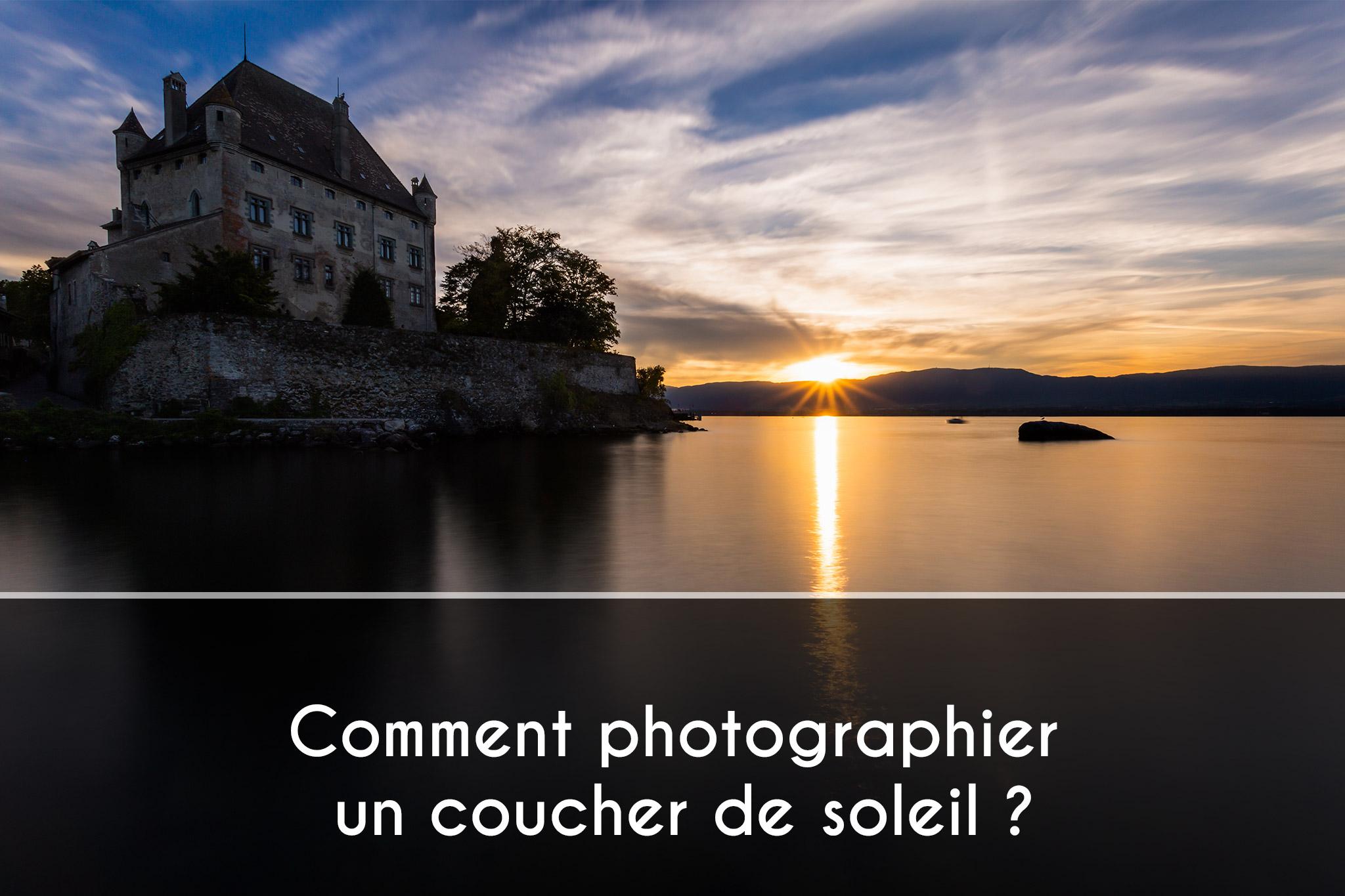 Comment photographier un coucher de soleil ?