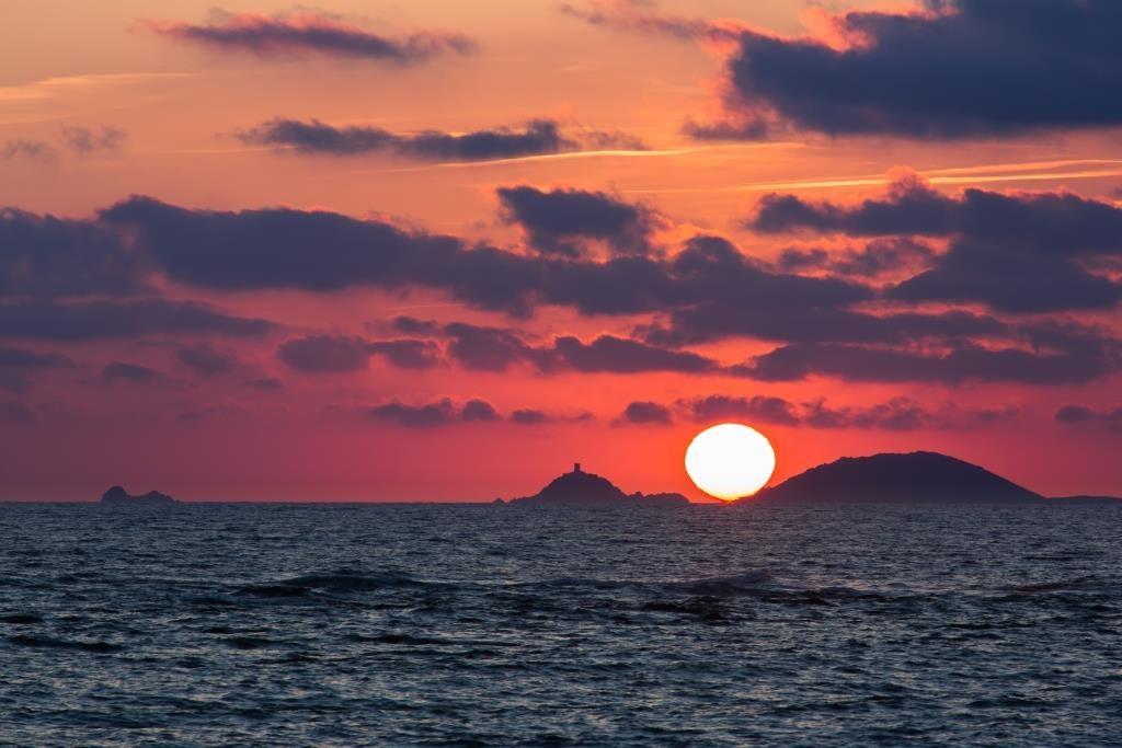Coucher de soleil (Corse - Iles sanguinaires)