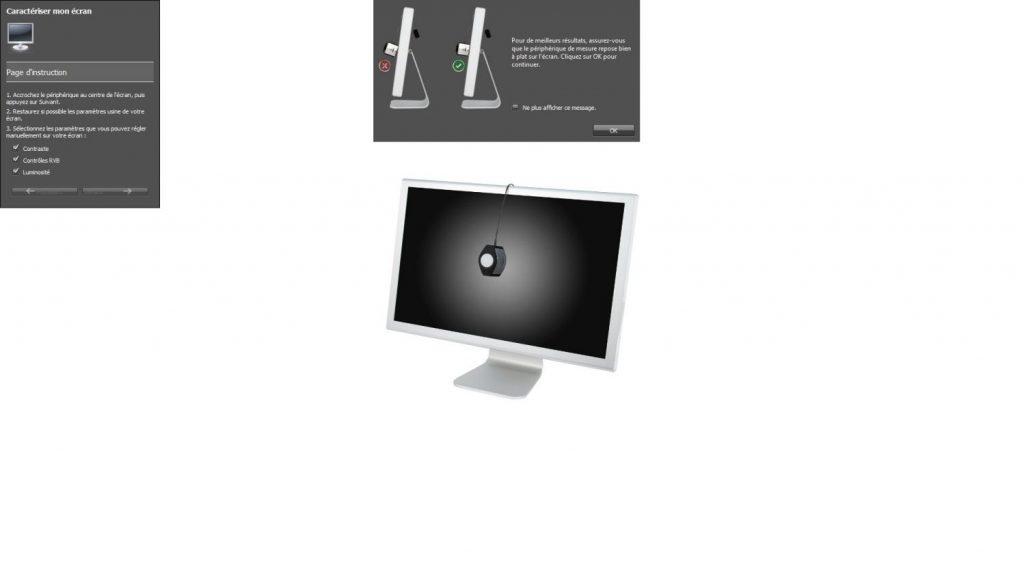 Calibration écran - i1profiler sonde
