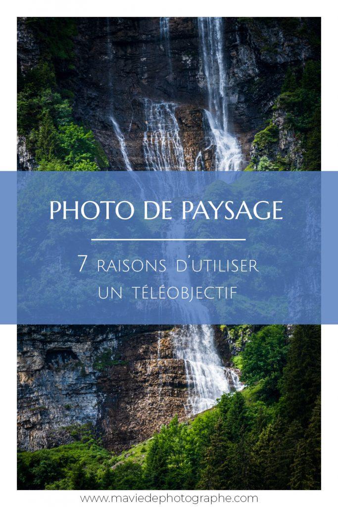 Pinterest - Photo de paysage - 7 raisons d'utiliser un téléobjectif