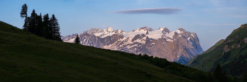 Panorama au téléobjectif